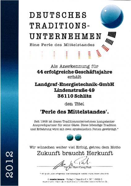 Deutsches Traditionsunternehmen